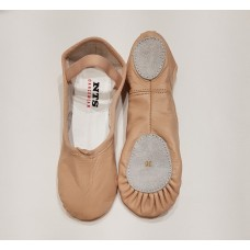 Ballet slippers leather