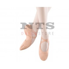 Bloch ballet slippers leather