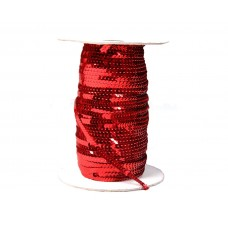 Decorative ribbon - red